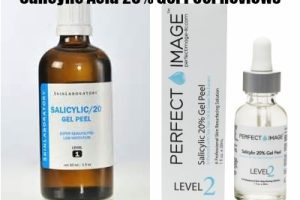 Salicylic Acid 20% Gel Peel